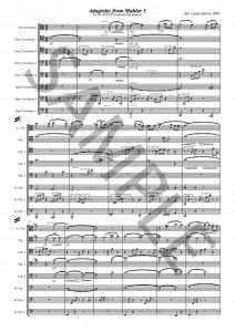 Adagietto from Mahler 5 _ for eight trombones