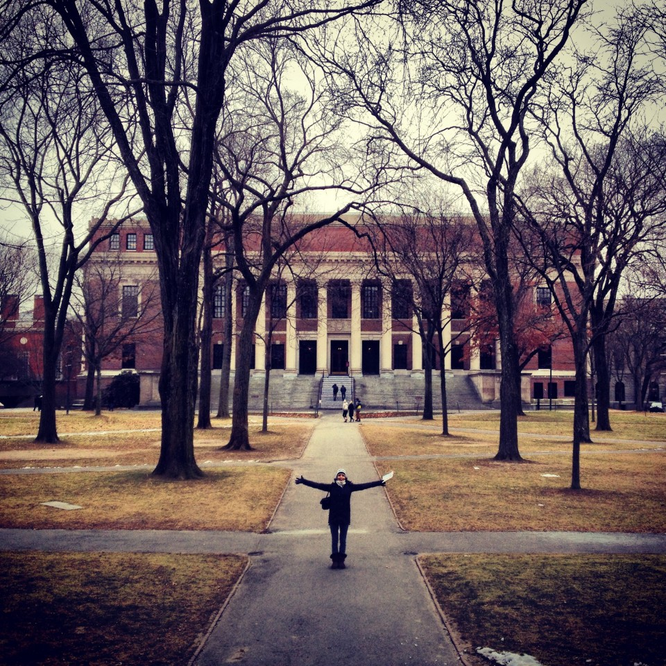 Widener Library, Harvard University