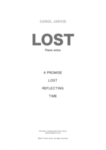 Lost (sheet music) _ four short piano solos