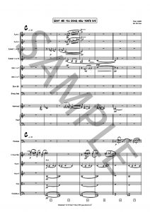 What are you doing new year's eve? _ for solo trombone and ensemble